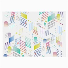 Layer Capital City Building Large Glasses Cloth (2 Side)