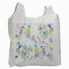 Layer Capital City Building Recycle Bag (one Side)