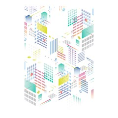 Layer Capital City Building Shower Curtain 48  X 72  (small)