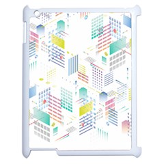 Layer Capital City Building Apple Ipad 2 Case (white)