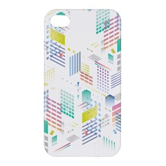 Layer Capital City Building Apple Iphone 4/4s Premium Hardshell Case