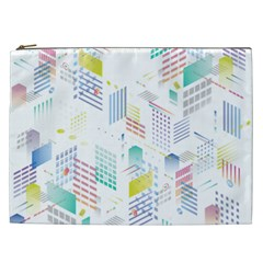 Layer Capital City Building Cosmetic Bag (xxl)