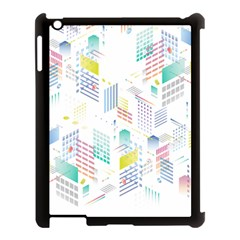 Layer Capital City Building Apple Ipad 3/4 Case (black)
