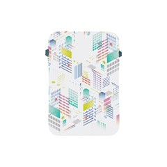 Layer Capital City Building Apple Ipad Mini Protective Soft Cases