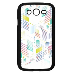 Layer Capital City Building Samsung Galaxy Grand Duos I9082 Case (black)