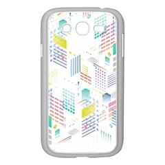Layer Capital City Building Samsung Galaxy Grand Duos I9082 Case (white)