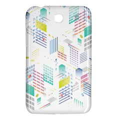 Layer Capital City Building Samsung Galaxy Tab 3 (7 ) P3200 Hardshell Case