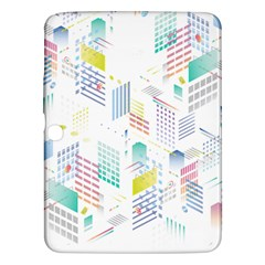 Layer Capital City Building Samsung Galaxy Tab 3 (10 1 ) P5200 Hardshell Case