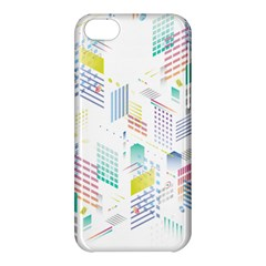 Layer Capital City Building Apple Iphone 5c Hardshell Case