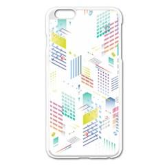 Layer Capital City Building Apple Iphone 6 Plus/6s Plus Enamel White Case