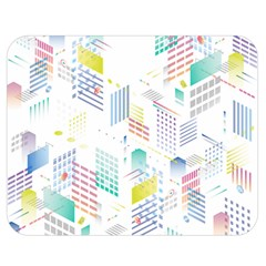 Layer Capital City Building Double Sided Flano Blanket (medium)