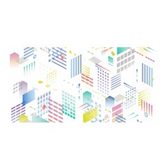 Layer Capital City Building Satin Wrap