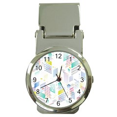 Layer Capital City Building Money Clip Watches