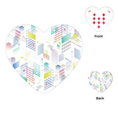 Layer Capital City Building Playing Cards (heart)