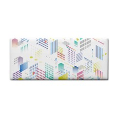 Layer Capital City Building Cosmetic Storage Cases