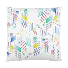 Layer Capital City Building Standard Cushion Case (one Side)