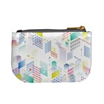 Layer Capital City Building Mini Coin Purses Back