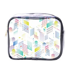 Layer Capital City Building Mini Toiletries Bags