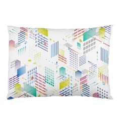 Layer Capital City Building Pillow Case (two Sides)