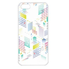 Layer Capital City Building Apple Iphone 5 Seamless Case (white)