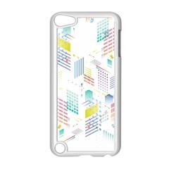 Layer Capital City Building Apple Ipod Touch 5 Case (white)