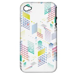 Layer Capital City Building Apple Iphone 4/4s Hardshell Case (pc+silicone)
