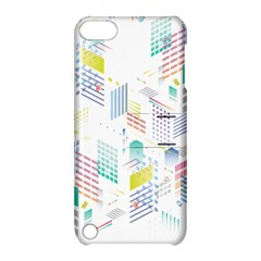 Layer Capital City Building Apple Ipod Touch 5 Hardshell Case With Stand