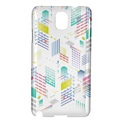 Layer Capital City Building Samsung Galaxy Note 3 N9005 Hardshell Case