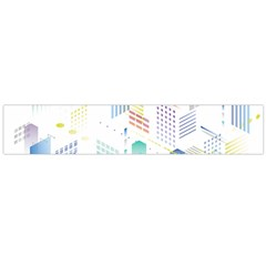 Layer Capital City Building Flano Scarf (large)