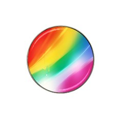Red Yellow White Pink Green Blue Rainbow Color Mix Hat Clip Ball Marker