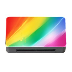Red Yellow White Pink Green Blue Rainbow Color Mix Memory Card Reader With Cf