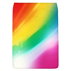 Red Yellow White Pink Green Blue Rainbow Color Mix Flap Covers (s)