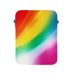 Red Yellow White Pink Green Blue Rainbow Color Mix Apple Ipad 2/3/4 Protective Soft Cases