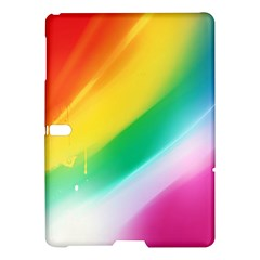 Red Yellow White Pink Green Blue Rainbow Color Mix Samsung Galaxy Tab S (10 5 ) Hardshell Case