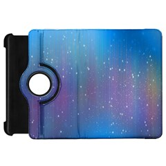 Rain Star Planet Galaxy Blue Sky Purple Blue Kindle Fire Hd 7
