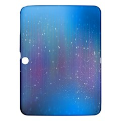 Rain Star Planet Galaxy Blue Sky Purple Blue Samsung Galaxy Tab 3 (10 1 ) P5200 Hardshell Case