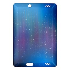 Rain Star Planet Galaxy Blue Sky Purple Blue Amazon Kindle Fire Hd (2013) Hardshell Case