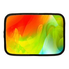 Red Yellow Green Blue Rainbow Color Mix Netbook Case (medium)