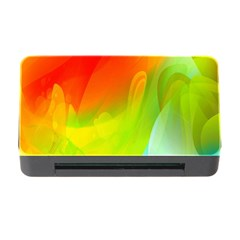 Red Yellow Green Blue Rainbow Color Mix Memory Card Reader With Cf