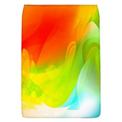 Red Yellow Green Blue Rainbow Color Mix Flap Covers (l)