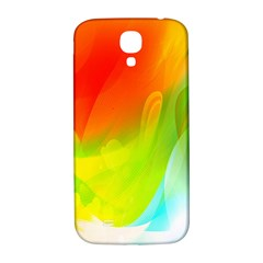 Red Yellow Green Blue Rainbow Color Mix Samsung Galaxy S4 I9500/i9505  Hardshell Back Case