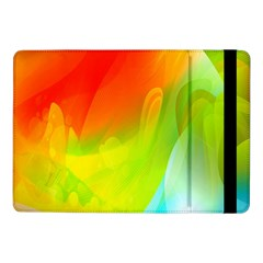 Red Yellow Green Blue Rainbow Color Mix Samsung Galaxy Tab Pro 10 1  Flip Case