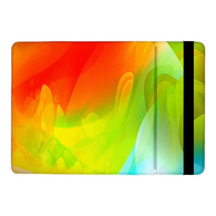 Red Yellow Green Blue Rainbow Color Mix Samsung Galaxy Tab Pro 10.1  Flip Case