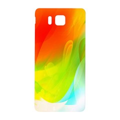 Red Yellow Green Blue Rainbow Color Mix Samsung Galaxy Alpha Hardshell Back Case