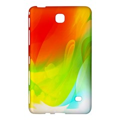 Red Yellow Green Blue Rainbow Color Mix Samsung Galaxy Tab 4 (8 ) Hardshell Case