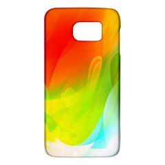Red Yellow Green Blue Rainbow Color Mix Galaxy S6