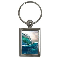 Sea Wave Waves Beach Water Blue Sky Key Chains (rectangle)