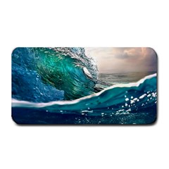 Sea Wave Waves Beach Water Blue Sky Medium Bar Mats