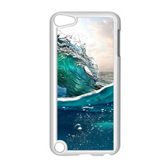 Sea Wave Waves Beach Water Blue Sky Apple Ipod Touch 5 Case (white)