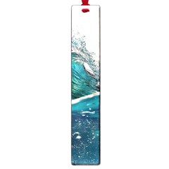 Sea Wave Waves Beach Water Blue Sky Large Book Marks